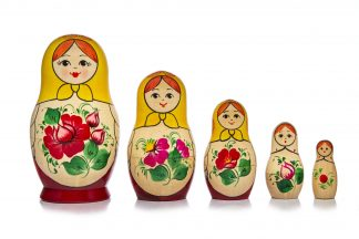 5 Pieces Matryoshka